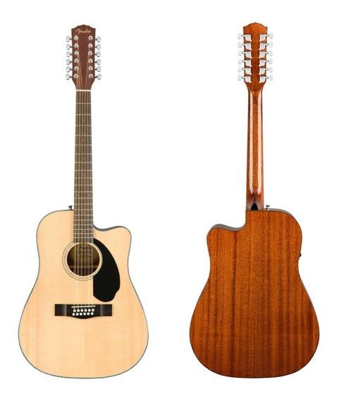 Guitarra Electroacústica Fender Cd-60sce 12cuerdas En Cuotas