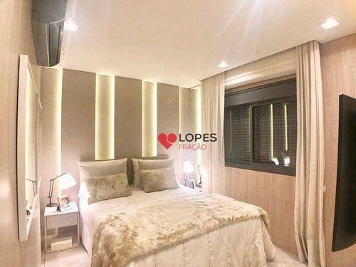 Apartamento Com 3 Dormitórios À Venda, 123 M² Por R$ 1.142.784,00 - Tatuapé - São Paulo/sp - Ap3005