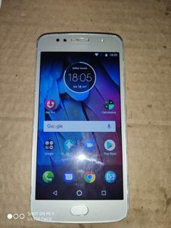 Celular Moto G 5s Usado Com 32 Gb De Memória Com Biometria