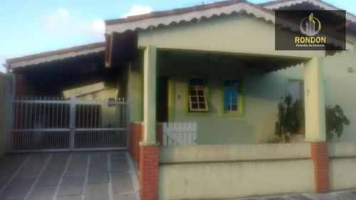 Casa Com 3 Dormitórios À Venda, 99 M² Por R$ 280.000,00 - Jardim Ribamar - Peruíbe/sp - Ca1178