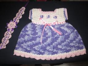 c2dbc5c11 Vestido De Niña Tejido A Crochet - Ropa, Zapatos y Accesorios en ...