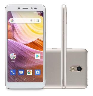 Smartphone Ms50g 3g Multilaser 8gb Dourado/branco - Nb731
