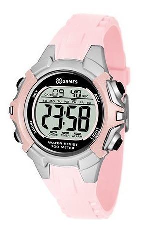 Relógio Digital X-games Esportivo P/ Meninas Xfppd053 Bxrx