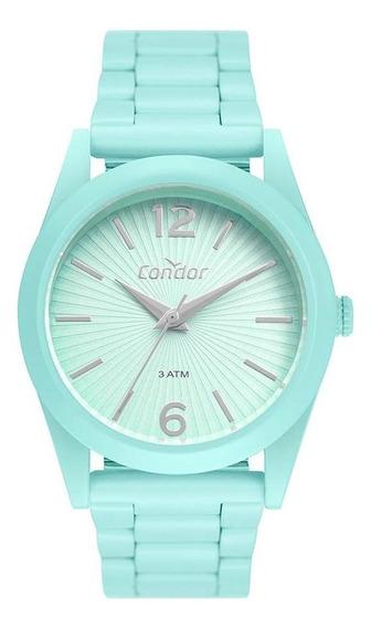 Relógio Condor Feminino Color Fun Verde Co2035muu/8v