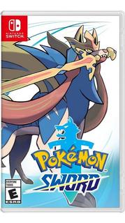 Pokemon Espada Sword Nintendo Switch Juego Espada Y Escudo