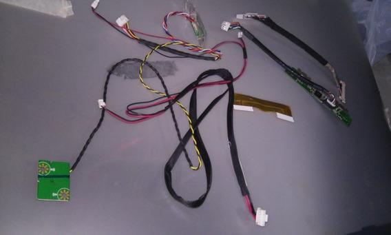 Kit Cabo Flat Lvds Sensor Conector Tv Aoc Le39s5970