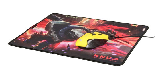 Mouse Pad Gamer Profissional Grande - Knup Kp-s07 42x32cm