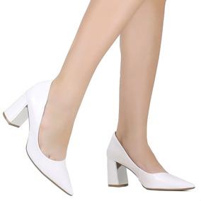 34d0f1fcbb Sapato Bebece Salto Grosso - Sapatos no Mercado Livre Brasil