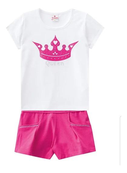 Conjunto Blusa E Shorts - Brandili
