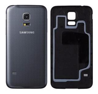 Tampa Traseira Bateria Samsung Galaxy S5 G900m G900md Preta