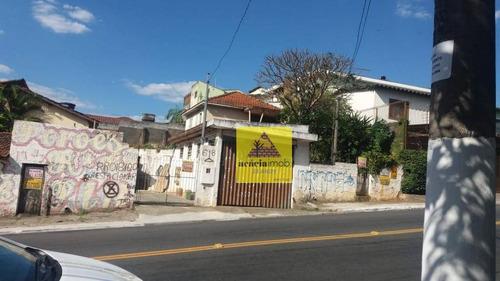 Terreno Residencial À Venda, Vila Clarice, São Paulo. - Te0247
