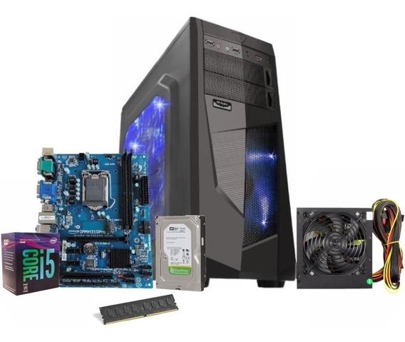 Pc Gamer Intel Core I5 8400 Ddr4 8gb Hd 1tb Fonte 500w