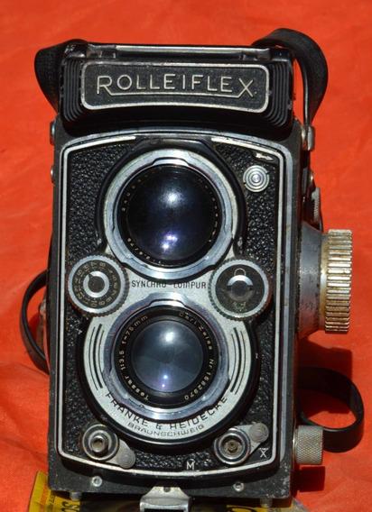 Câmera Fotográfica Rolleiflex 3,5f