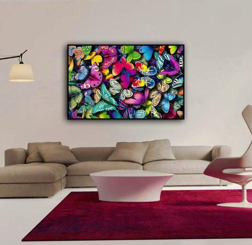 Cuadros Modernos Decoracion Canvas Obra De Arte Mariposas