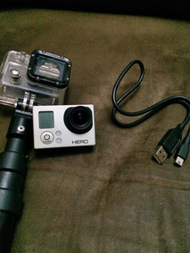Gopro Hero 3 White + Cartao 16gb + Bastão + Cabo Original