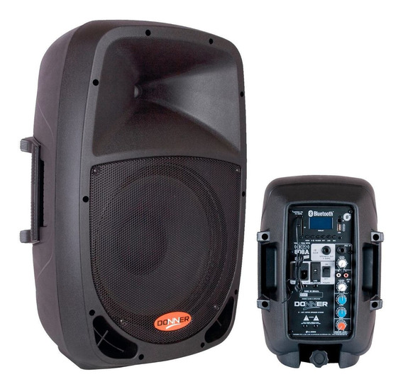 Caixa De Som Bluetooth Amplificada Ativa 08 Usb Nca