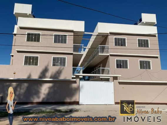 Casa Tipo Apartamento Aceita Financiamento Bancário Em Barra De São João, Muito Próximas A Unamar Cabo Frio!!! - Vcac 245 - 34179493