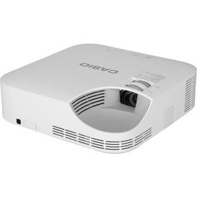 Mini Retro Projetor Datashow Hd Casio Xj-v2 Hdmi 3000 Lumens