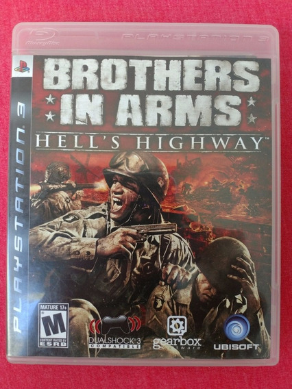 Brothers In Arms Ps3 Mídia Física Usado