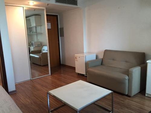 Flat Com 1 Dormitório Para Alugar, 30 M² Por R$ 5.000/mês - Moema - Fl0031