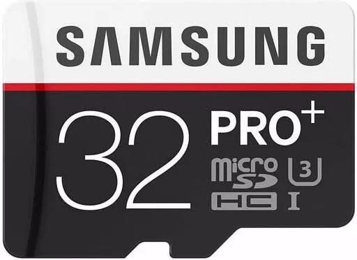 Cartão De Memória Samsung Pro+ 32 Gb 4k