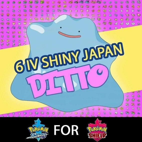 Ditto Shiny Jap 6iv Pokémon Xy Oras Sm E Ultra Sun E Moon