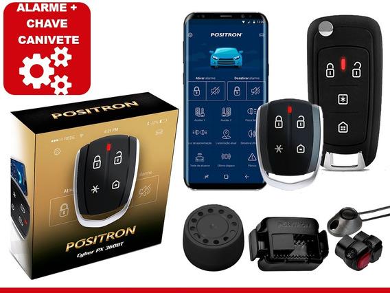 Alarme Positron Px360bt Bluetooth + Chave Canivete Px80