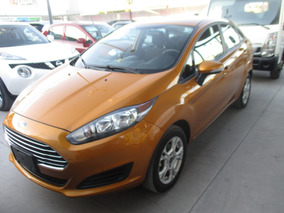 Ford Fiesta Se Sedan, Aut, 4 Cil, A/c, Color Oro, Mod 2016