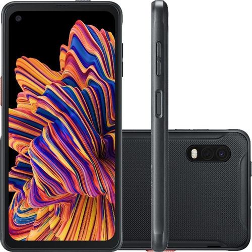 Celular Smartphone Samsung Galaxy Xcover Pro Sm-g715u 64gb Preto - Dual Chip