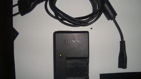 Carregador De Bateria Sony Modelo Bc-csg Original