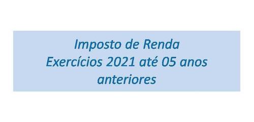 Imagem 1 de 2 de Declaração De Imposto De Renda Pessoa Física / Decl. Mei