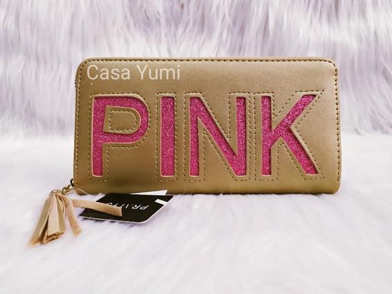 Billeteras De Dama Pink Pratys
