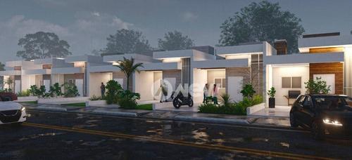 Imagem 1 de 5 de Casa Com 2 Dormitórios À Venda, 61 M² Por R$ 262.000,00 - Das Quintas - Estância Velha/rs - Ca3842