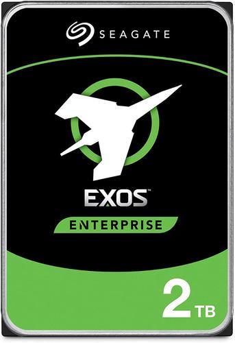 Seagate Exos 7e2 2tb Disco Duro Hdd Sata 6 Gb/s Nas Empresas