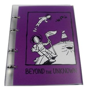 Caderno Fichário Coleção Gang - 10 Mat - Capa Pvc