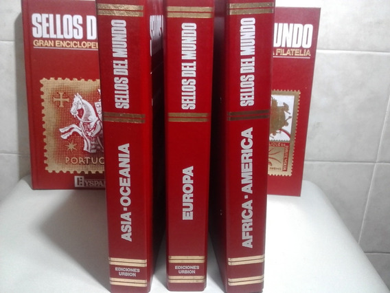 Sellos Del Mundo:enciclopedia De La Filatelia