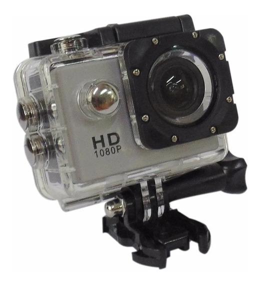 Camera Go Pro Com Adaptadores Rio Cristal