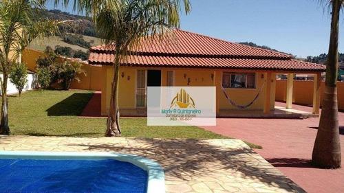 Imagem 1 de 10 de Linda Chácara Em Munhoz Minas Gerais-aceita Permuta Casa-apartamento Na Cidade De Guarulhos-sp - Ch0001