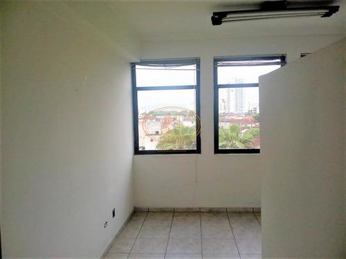 Sala Comercial  Localizado(a) No Bairro Vila Mathias Em Santos / Santos  - 6744