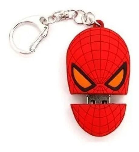 Pendrive Hombre Araña 8gb Amazing Spider-man Usb