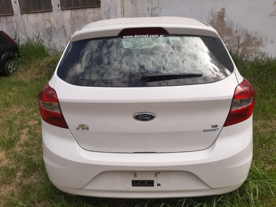 Ford Ka 2015 Chocado Dado De Baja En Municipalidad.