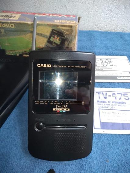 Tv Casio Lcd Pocket Color 475 V