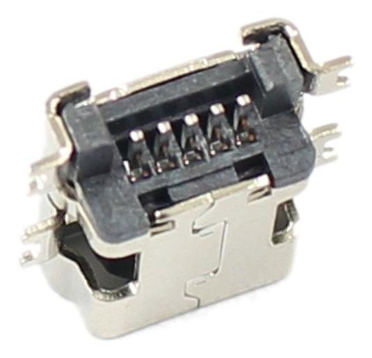 Conector Carga Micro Usb 5 Pinos P/ Gps Tablets