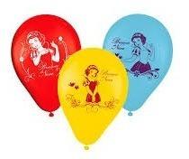 Balão Bexiga Personagens Disney 9pol C/25 Látex Licenciado