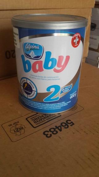 Fórmula Para Bebés Baby Alpina 2 (0 A 6 Meses)