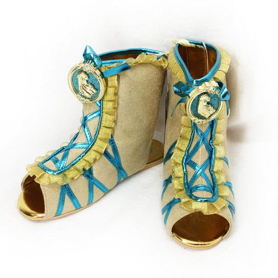 Bota Princesa Pocahonta Original Disney Store P/entrega