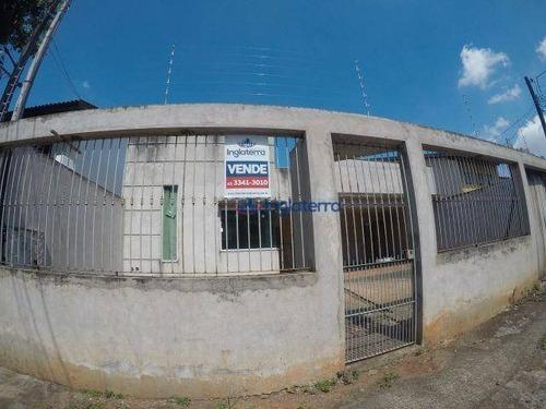 Casa À Venda, 211 M² Por R$ 420.000,00 - Jardim Alvorada - Londrina/pr - Ca0289