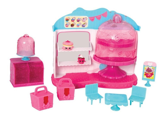Shopkins Café Rainha Cupcake Com 2 Shopkins Exclusivos Dtc