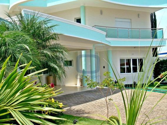 Casa Com Imponente Arquitetura Em Condomínio Fechado Na Cidade De Hortolândia/sp. - Ca0180
