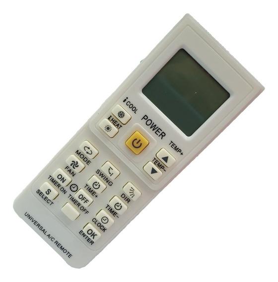 7045 Controle Remoto Universal Ar Condicionado Kt-9018e